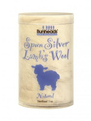 Bunheads Spun Silver Lambswool 1oz. - Main