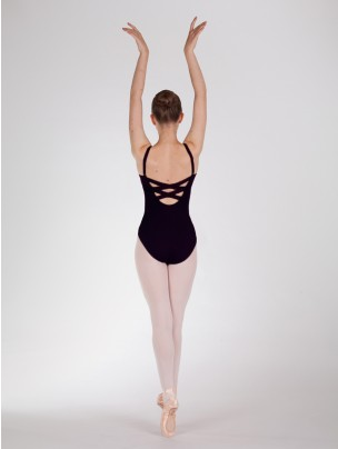 Capezio Bodisilk Cami Leo with X Back Straps - Main