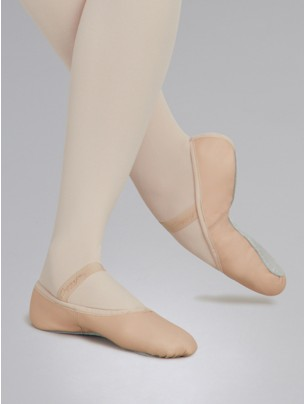 Capezio Daisy Ballet Shoes Pink Leather - Main