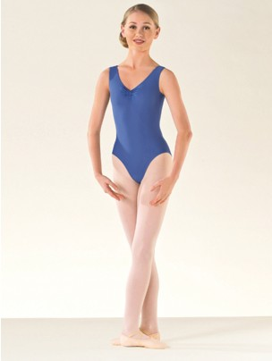 ISTD Ballet ruche lined leotard Grade 1-4 - Main