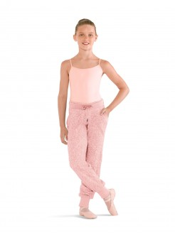 Bloch Angled Pocket Panelled Pants (PINK)