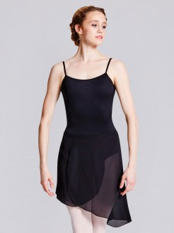 Bloch Maroney Georgette Asymmetrical Skirt