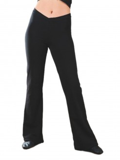 1st Position V Front Jazz Pants (Nylon)