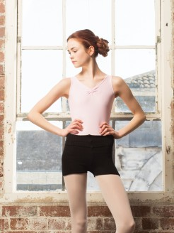 Intermezzo Medium Knit Roll Top Shorts (Acrylic)