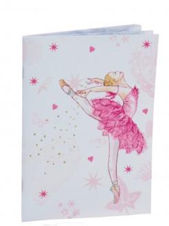 Pink Ballerina Design Soft Notebook - Main