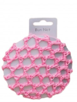Pink Crochet Bun - Single - Main