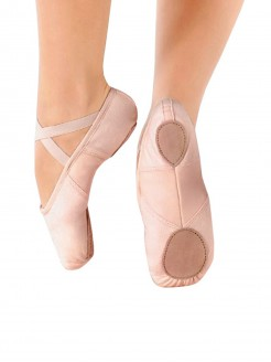 So Danca Stretch Insert Canvas Ballet Shoe
