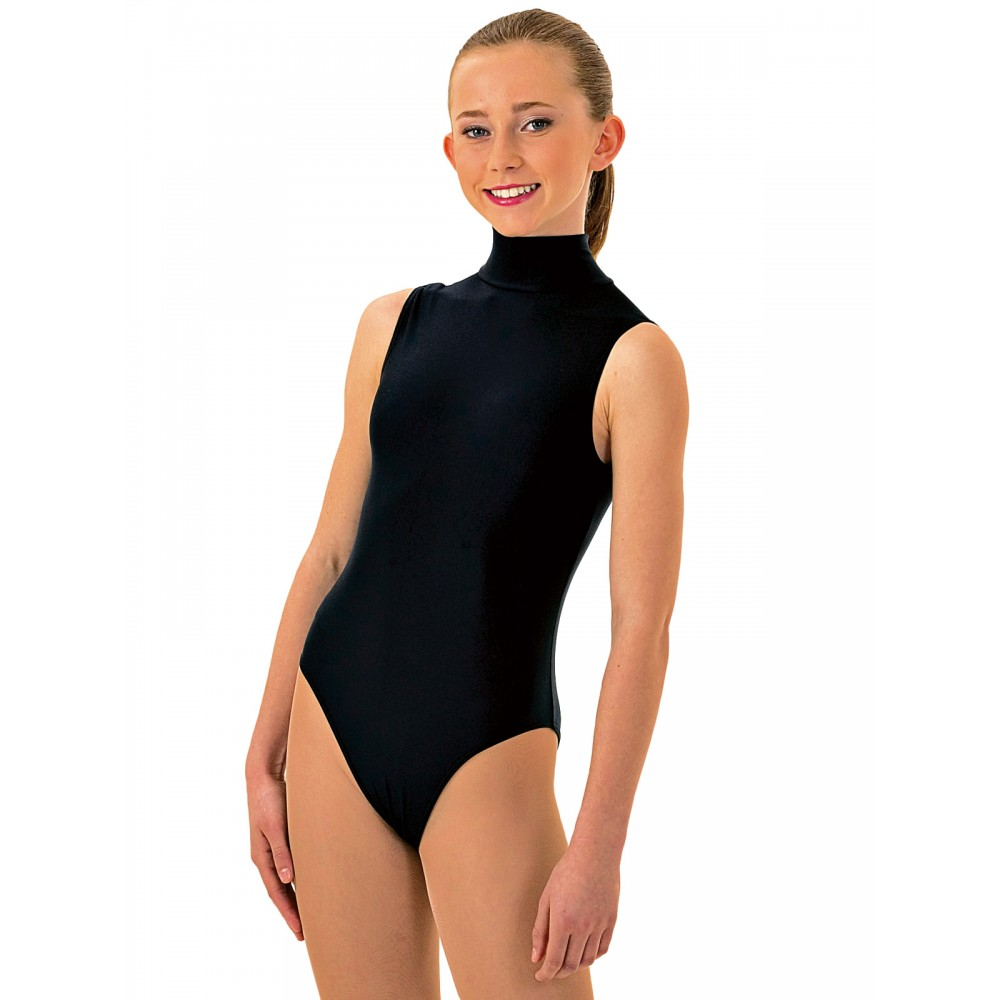 45c84019cccd 1st Position Jill Polo Neck Sleeveless Leotard - Free UK Delivery ...