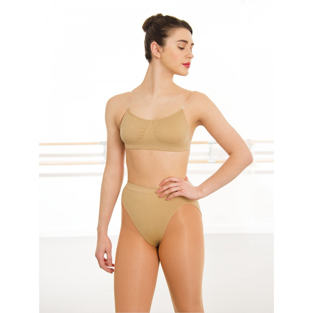 b39db39de4895 Silky Seamless Clear Back Bra Top - Free UK Delivery - firstposition.com