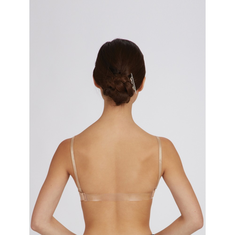 25a4f49aab14b Capezio Seamless Clear Back Bra - Free UK Delivery - firstposition.com