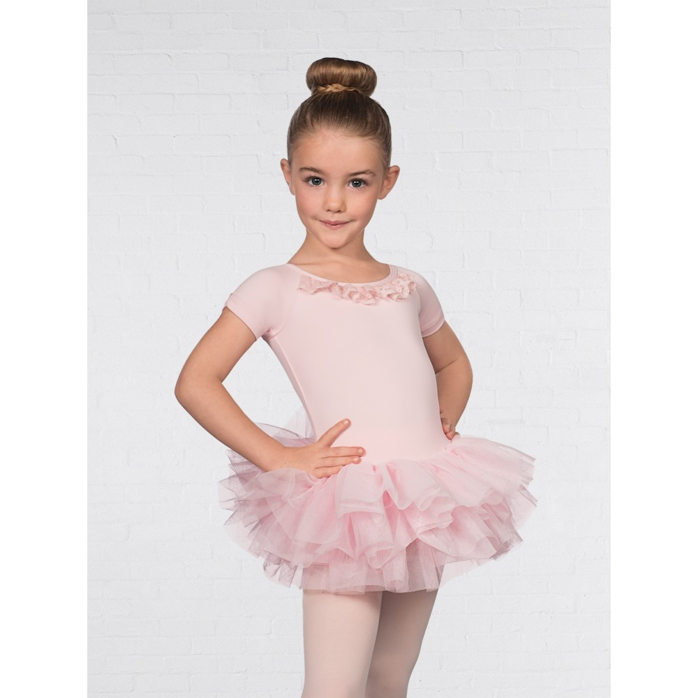 176e714be 1st Position Cap Sleeved Mesh Heart Tutu - Free UK Delivery ...