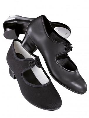 1st Position Canvas Cuban Heel Tap Shoes - Main