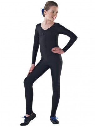 1st Position Claire Long Sleeved Catsuit - Main