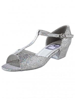 "1st Position Hologram Ballroom Shoe - 1"" Heel - Main"