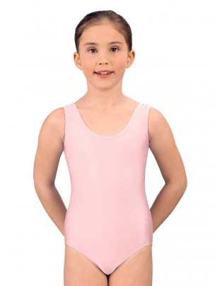 1st Position Laura Vest Leotard - Pale Pink