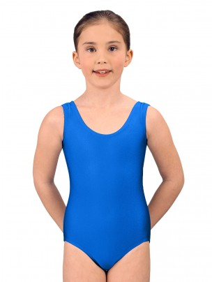 1st Position Laura Vest Leotard - Royal Blue