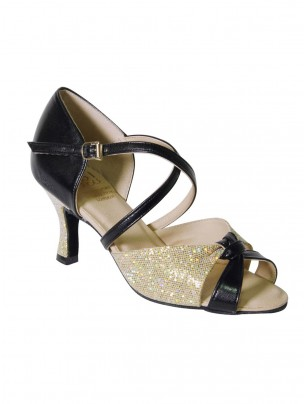 DSI Rome Shoe - Black_Gold