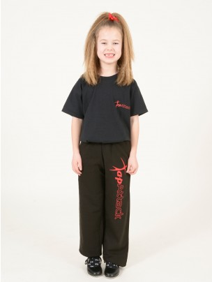 Tap Attack Child's Tracksuit bottoms  - Black