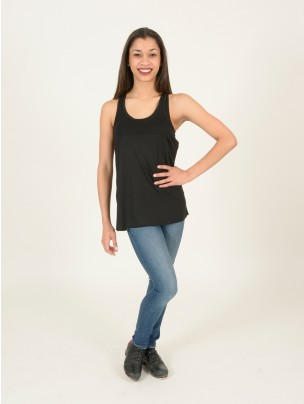 Tap Attack Flowy Vest Top with Racer Back