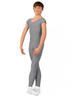 ABT Mens Stirrup Unitard - Grey