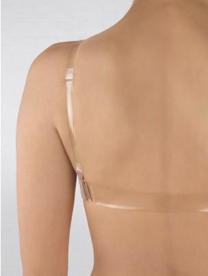 Silky Clear Elastic Bra Strap Pack
