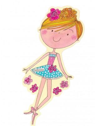 Ballerina Bookmark - Main