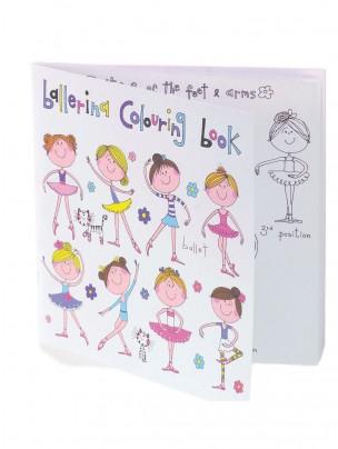 Ballerina Colouring Book - Main