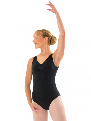 BBO Ballet & Tap Grades 6 - 8 and All Vocational Exams Leotard - Black