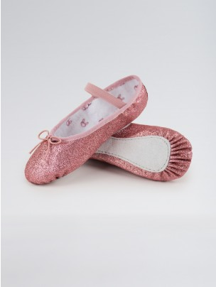 Bloch Glitterdust Full Sole Ballet Shoe
