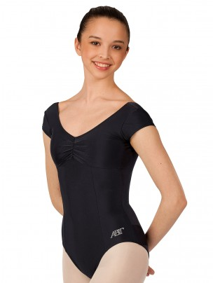 ABT Jenna Levels 4/5/6/7 Deeper Bust Line Cap Sleeved Leotard