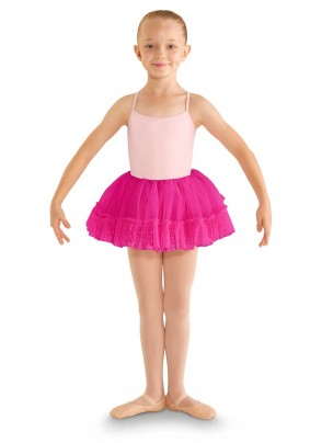 Bloch Addelyn Heart Mesh Tutu Skirt