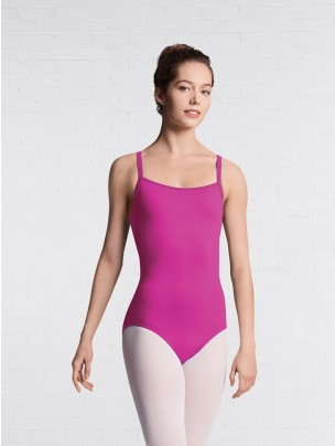 Bloch Mesh Keyhole Back Cami Leotard