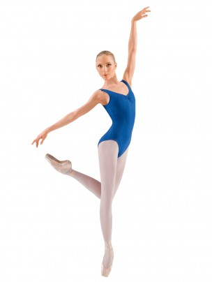 Bloch Adagio Tank leotard with Pinch Front - Main