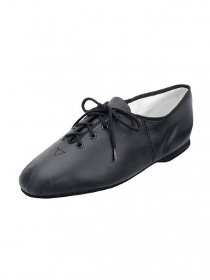 Bloch Essential Full Sole Lace Up Jazz Shoe Black - Main