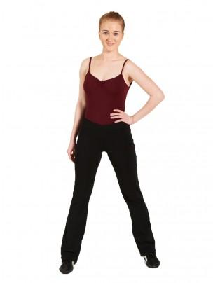 Bloch V Front Jazz Pants - Black