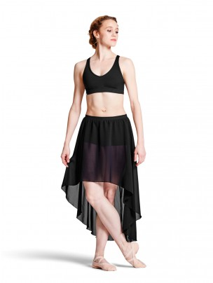 Bloch Daria Georgette Hi Low Skirt with Shorts