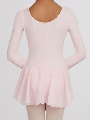 Capezio Childs Long Sleeve Leotard Dress - Pink