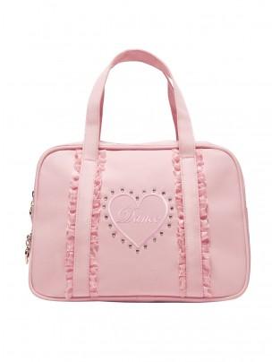 Capezio Dance Heart Bag Pink - Main