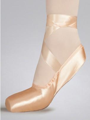 Capezio Demi Pointe Shoes M Width - Pink