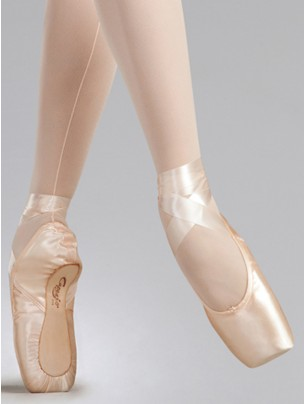 Capezio Glissé Pointe Shoes (Wide) - Pink