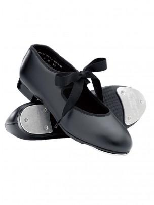Capezio Junior Tyette Tap Shoes - Black