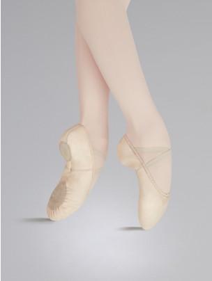 Capezio Leather Cobra Split Sole Ballet Shoe - Main