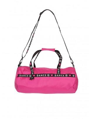 Capezio Love Peace Dance Duffle Bag - Hot Pink - Main