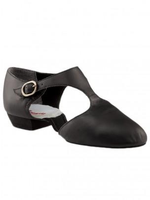 Capezio Pedini Split Sole Shoes - Black