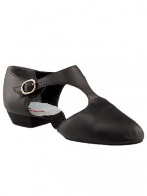 Capezio Pedini Split Sole Shoes - Black