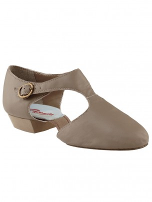 Capezio Pedini Split Sole Shoes - Tan