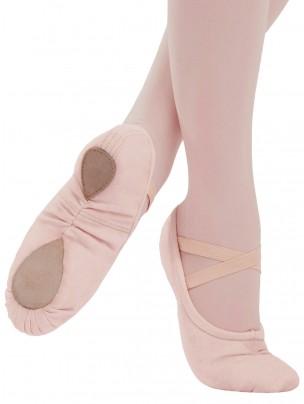 Capezio Pro Canvas Ballet Shoe Ballet Pink - Main