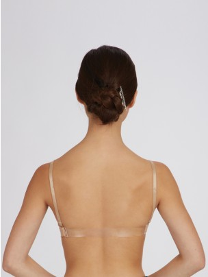 Capezio Seamless Clear Back Bra - Main