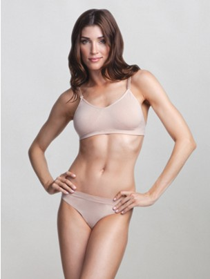 Capezio Seamless Low Rise Thong - Main
