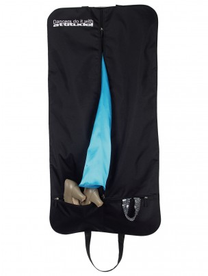 """Costume Carrier """"Dancers Do It With Attitude"""" (Black) - Main"""